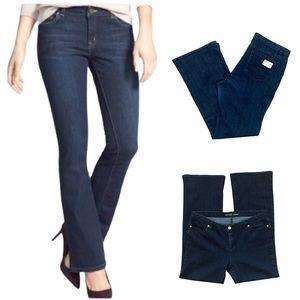 MICHAEL KORS Boot Cut Dark Wash Jeans